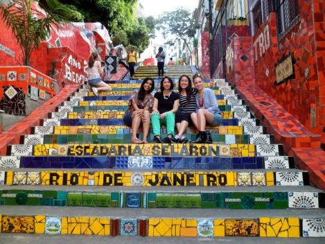 Lapa Stairs by artist Escadaria Selarón
