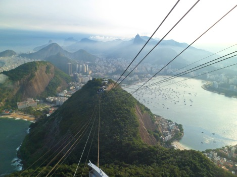 Crazy view from Pão de Açúcar