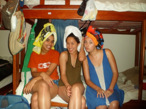 Silly in our towels