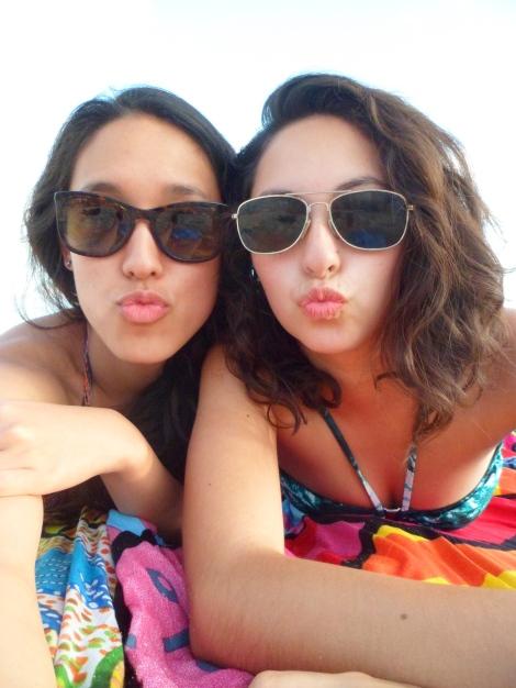 Beijos na praia