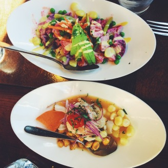 Nomlicious Peruvian eats in the Mission.