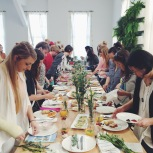 A fairytale brunch & food styling workshop in our space!