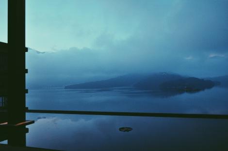 At the Lalu Hotel, at Sun Moon Lake in Taichung, Taiwan.