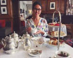 Afternoon tea at the Brown's Hotel in London :)