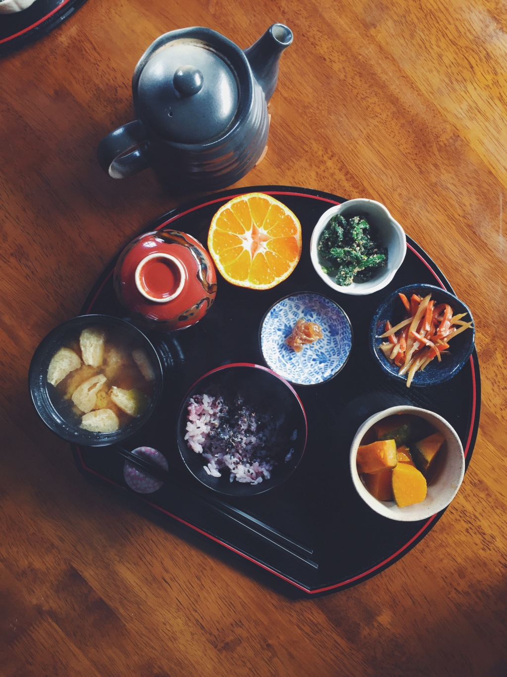 Japanese Breakfast Teishoku
